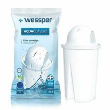 Wessper AquaClassic Wasserfilter für BRITA, DAFI, PearlCo Glas Classic WES002