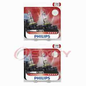 2 pc Philips Low Beam Headlight Bulbs for Ford Contour Cougar Crown Victoria wc