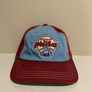 Philadelphia Phillies Throwback Strapback Hat Cooperstown American Needle