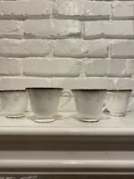 Waterford Brocade Set Of 4 Coffee Cups