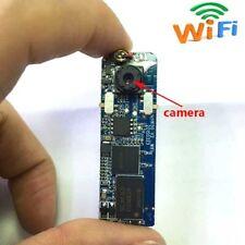 wireless mini spy camera DIY WIFI IP remote hidden nanny color audio camera dvr