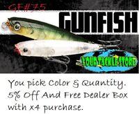 Lucky Craft GF75 GF95 Gunfish Pick Color&Qty NIP 5% OFF and Free dealer box @x4