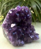 Amethyst Cluster Geode Crystal Quartz Cut Base Purple Amethyst Specimen Uruguay