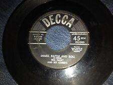 Bill Haley & the Comets  Shake Rattle & Roll 45 RPM Decca Records