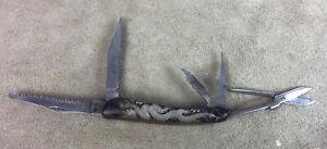 vintage UTILITY POCKET KNIFE