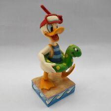 Disney Jim Shore Make A Splash Donald Duck Inner Tube Retired Rare 4050415