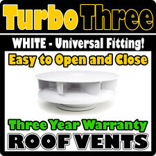 Van Roof Extractor Fan Vent Air Powered 12v Electric Not Required WHITE Citroen