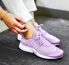 Nike Air Presto Donna Running/palestra scarpe da ginnastica. misura 5.5 Regno Unito. NUOVO in scatola. LILLA.