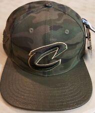 Cleveland Cavaliers Pro Standard NBA Custom Strapback Cap Green Camo Brand New!