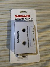 Magnavox Cassette Adapter Smart Phone/Mp3/Cd Player to 3.5mm Adapter New Sealed