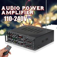 2000W 2 Channel EQ bluetooth Home Stereo Power Amplifier Audio USB AMP Type