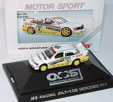 1:87 Mercedes 190E Evo II DTM 1992 MS-Racing Kärcher N° 12 Jörg van Ommen herpa