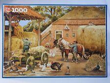 Jumbo Jigsaw Puzzles The Last Harvest Cornelis Jetses 1000 Piece