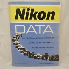 New ListingNikon Data - 500+ Cameras, Lenses & Accessories - detailed buying manual