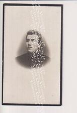 Oud doodsprentje DP A. Pauwels Putte bij Mechelen 19101 Priester Leuven Tournai