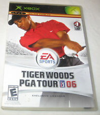 Tiger Woods PGA Tour 06 (Xbox, 2005) EA Sports Free Shipping U.S.A.