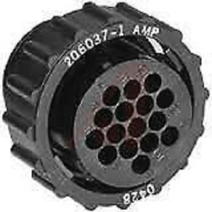 CONNECTOR Amp TE TYCO 206037-1 CPC 16 pin Circular Connector mil-spec military