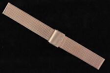 Milanaise Uhrenarmband von Eichmüller mesh bands 20mm Edelstahl Rosé