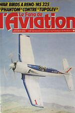 REVUE LE FANA DE L AVIATION ANNEE 1985 COMPLETE DES 12 NUMEROS de 182 à 193