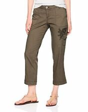 Lee Womens Collection Midrise Fit Bohemian Cargo Capri Pant- Pick SZ/Color.