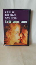 Eyes Wide Shut Promotional Copy. Snap Case Rare 1999 DVD tom cruise Kidman movie