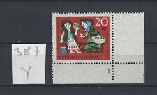 Bund Formnummer FN 1 Y postfrisch Michel Nr 387