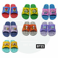 BTS BT21 Official Authentic Goods Bathroom Slippers Free Size 7Characters+Track