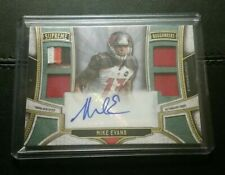 #1/5 Mike Evans Rare Patch Auto 2015 Topps Supreme Tampa Bay Bucs Texas AM