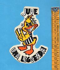 ADESIVO/STICKER (60)- PAPEROTTO JUVE UNA LEGGENDA - vintage - cm.9,5X14