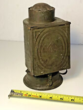 Ingento #6 Dark Room Photography Tin Oil Lantern Antique - Electrified!