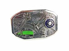Deco HRE T.C.W.L.H. of A. Truck Belt Buckle By HOOK FAST 52416