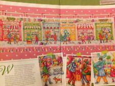 (X7) Xmas Street Shops Stitch Along (all 4 Parts) Christmas Cross Stitch Chart