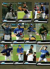 11 ATHLETICS LOT 2011 BOWMAN TOPPS 100 CHEN SOLIS PEREZ ROBLES LEE GREEN ROMINE