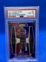 2017 Panini Prizm Red White & Blue BAM ADEBAYO RC #51 PSA 8 NM-MT Heat Rookie