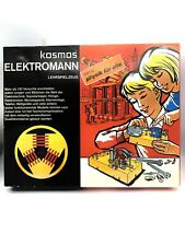 Kosmos Elektromann Experimentierkasten Baukasten, alt 1971 Selten