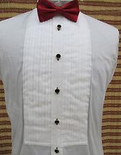 CUSTOM MADE 100% COTTON WHITE TUXEDO SHIRTS,TAILORED WEDDING DRESS SHIRTS