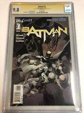 Batman (2011) # 12 (CGC SS 9.8)    Signed Scott Snyder & Greg Capullo