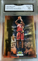 Lebron James ROOKIE Upper Deck 2003 Freshman Season #25 Collectibles Gem mint 10