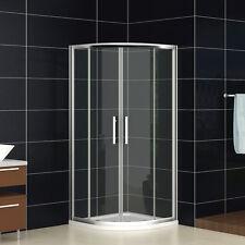Aica 800x800 Quadrant Shower Enclosure Walk In Corner Cubicle Glass Shower Door