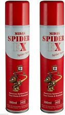More details for spider repellent spray great for cctv by midas spider ex  pack of 2