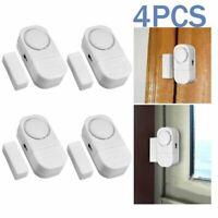 4x WIRELESS Home Window Door Burglar Security ALARM System Magnetic Sensor