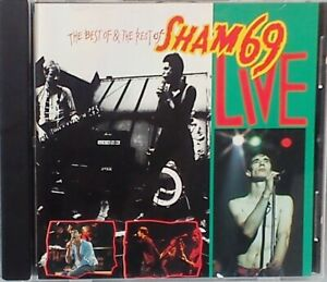 Sham 69 - The Best of & the Rest of Sham 69 Live (Live Recording) (CD 1993)