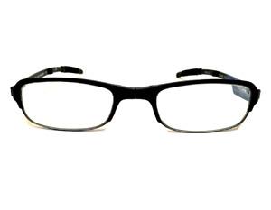 Foster Grant Reading Glasses Mens Black Compact Folding Reader +1.50 Strength
