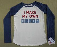 NWT JUNK FOOD Hasbro Game Night Scrabble Make Own Rulez Shirt -Boys XL New Tags