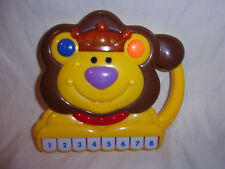 """Navy Star Lion Piano Carry Along Musical Learning Baby Toy 7"""""""
