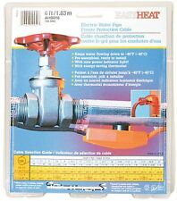 Easy Heat Tape 6' AHB-016 Electric Pipe Heating Cable Freeze Protection