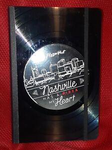 Pizza Hut Promotional RECORD JOURNAL Vinylux nashville limited edition vinyl lp