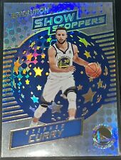 Stephen Curry 2017-18 Panini Revolution SHOW STOPPERS Insert Card (no.3)