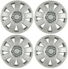 "NEW 2003-2004 Toyota COROLLA 15"" 9-spoke Hubcaps Wheelcover Silver SET of 4"