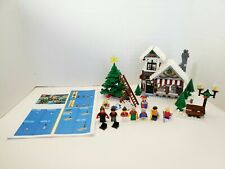 Lego - Winter Village Toy Shop 10199 100% Complete w/ Instructions Reprint